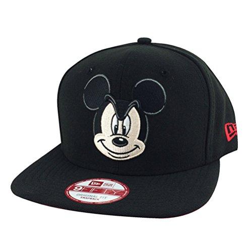New Era 9fifty Original Fit Disney Mickey Mouse Black Snapback Hat Cap