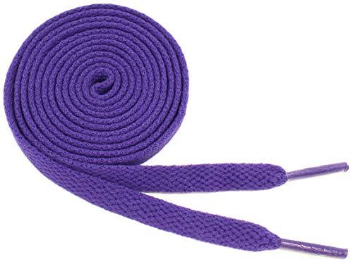 Purple Kids Charm - Flat Shoelaces 5/16