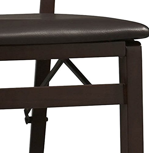 Linon Keira Pad Back Folding Bar Stool by Linon (Image #4)