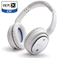 TSdrena Wireless Bluetooth 4.1 Headphones with Active Noise Cancelling Headphones Built in Microphone (White) AUD-BSHDP02WA