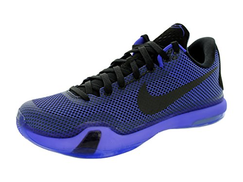 Nike Mens Kobe X Scarpa Da Basket Nero / Nero / Persiano Viola / Vlt
