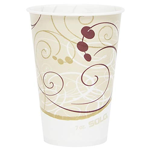 (Solo R7N-J8000 7 oz Symphany Waxed Paper Cold Cup (Case of)