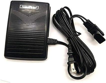 NGOSEW Foot Control with Cord for Singer 14U454 14U454B 14U544 14U554