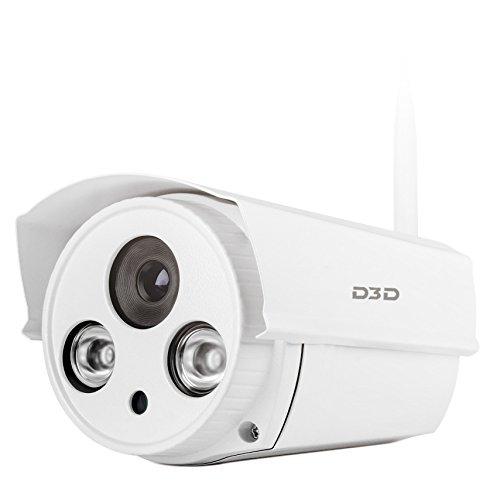 D3D Wireless HD Outdoor IP WiFi CCTV Outdoor Security Camera