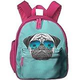 Pug Girl Knapsack Brand New