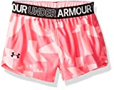 Under Armour Girls' Toddler Play Up Short, mojo Pink 2T