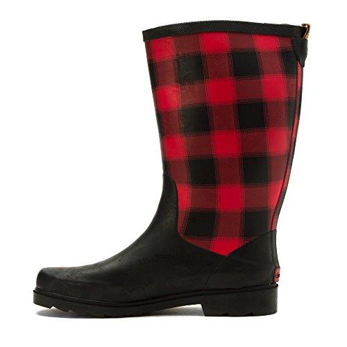 Plaid Chooka Women's Boot Buffalo Red Lumber Rain xxFS7qTw