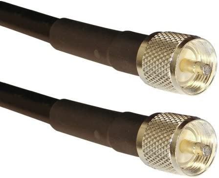 LMR-400 PL-259 Times Coax RF Cable 60 feet PL259 UHF CB