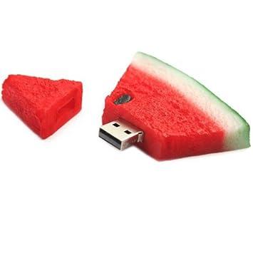 Carrito de Crazy 2 GB de sandía USB 2.0 Flash memoria unidad: Amazon.es: Informática