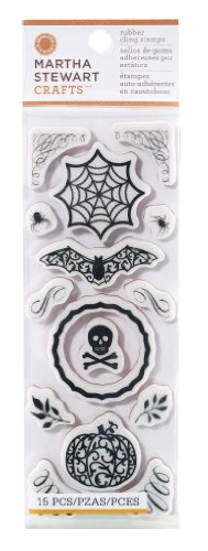 Martha Stewart Crafts Cling Rubber Stamp Set,