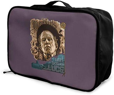 アレンジケース トムウェイツ 旅行用トロリーバッグ 旅行用サブバッグ 軽量 ポータブル荷物バッグ 衣類収納ケース キャリーオンバッグ 旅行圧縮バッグ キャリーケース 固定 出張パッキング 大容量 トラベルバッグ ボストンバッグ