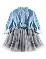 Weant 2PCS Bekleidungssets Mädchen Kleidung Set, Sommer Outfit Set Ärmellos Tupfen Drucken T-Shirt Tops Hemd+Bowknot Kurze Hosen Baby Tägliche Kleidung Pullover