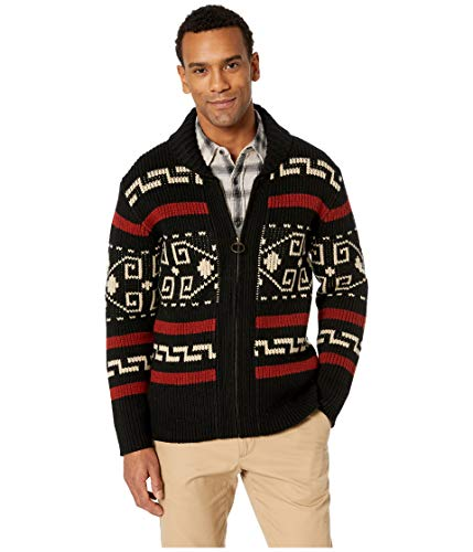 Pendleton Men's Original Westerley Sweater Black/Cream XX-Large