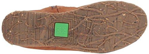 WOOD Braun Stiefel Angkor N916 Damen El NND Wood Cowboy Naturalista Pleasant 0x8Xn4fz