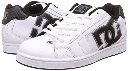 Dc Shoes Net M, Baskets mode homme, Blanc, 38,5