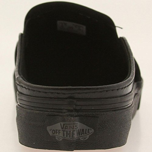 High Vans Mule On Black Slip Fashion Sneaker Leather Ankle Classic xCqwfTYC1