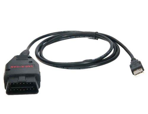 VAG-K + CAN Commander V1.4 Full Automotive Diagnostic Cable for VW & Audi (Black)