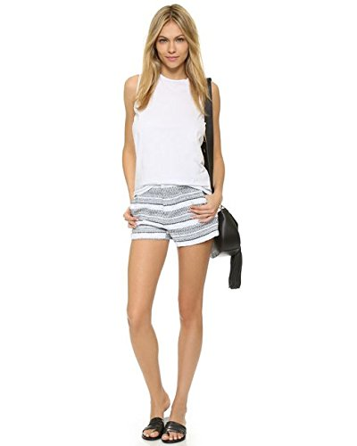Generation Love Mason Striped Boucle Shorts Black-White Size M by Generation Love (Image #2)