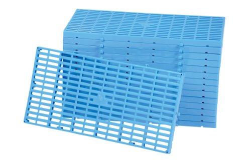 Plastic Gravel - Vestil F-GRID Plastic Floor Grid, 1100 lbs Capacity, 23.5