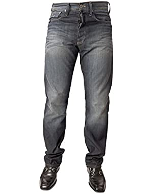 G Star Raw Men's Jeans 3301 Straight Leg Dark Blue New with Tags