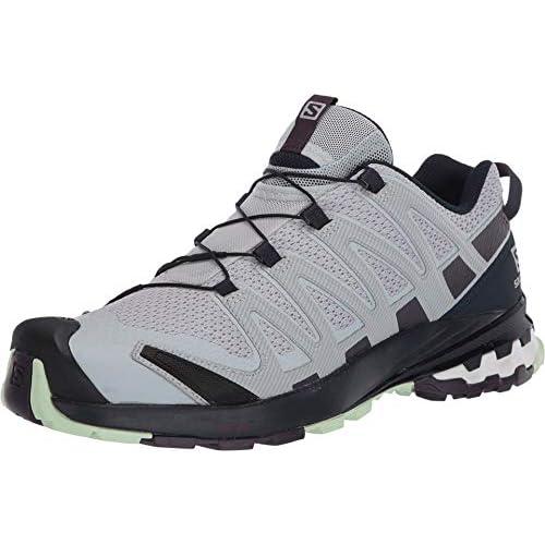 chollos oferta descuentos barato Salomon XA Pro 3D v8 W Zapatillas de Trail Running para Mujer Gris Pearl Blue Sweet Grape Patina Green 36 EU