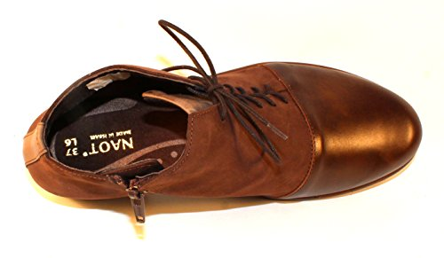 Vintage Nubuck Fog Leather Womens Bean Camden Brown Naot Leather Pecan Footwear Coffee agOApR