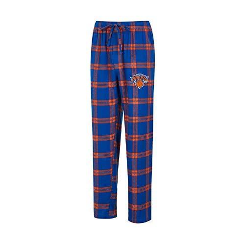 (Concepts Sport New York NY Knicks Men's Pajama Pants Plaid Pajama Bottoms (X-Large))