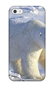 Sanp On Case Cover Protector For Iphone 5/5s (polarbears )