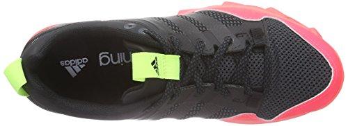 adidas Kanadia 7 TR W - Zapatillas para mujer, color negro / rosa / amarillo