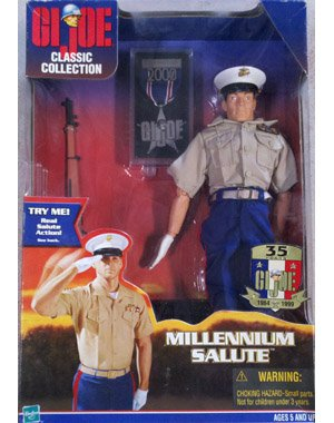 Gi Joe Action Marine (GI Joe MILLENNIUM SALUTE 12