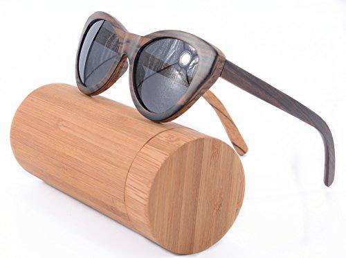 Cat Eye Frame Glasses Women Polished 3layers Wood - Glasses Frames Zebra