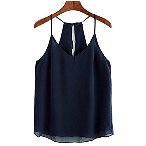pu ran - Camisas - para mujer azul marino