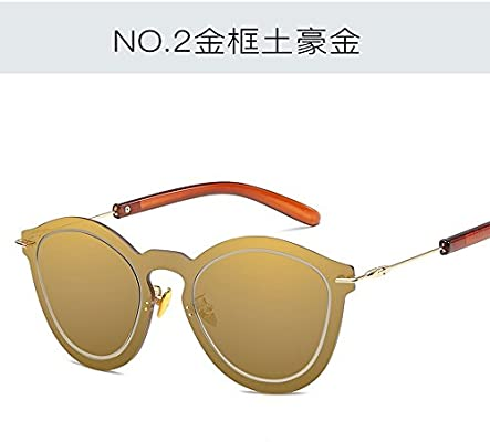 dbcb256dd3528 JUNHONGZHANG Colorido Espejo Espejo Retrovisor Integrado Piloto Gafas De Sol  Moda Moda Gafas De Sol