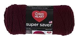 RED HEARTSuper Saver Yarn, Claret