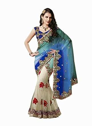 Amazon.com: Jay Sarees Designer Party Wear Bollywood