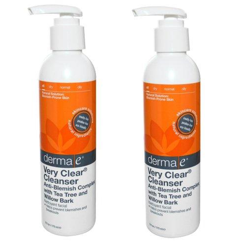 Derma e peau claire 1 problème Skin Cleanser, 6oz (ensemble de 2)