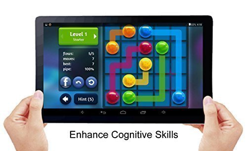 """Price comparison product image 'SENIOR GAMER' ~ A Captivating Easy-to-See and Use, 10"""" Entertainment Tablet for Senior Citizens. ~ More than 100 Fun, Mind-Enhancing Games. ~ ALL GAMES RUN WITHOUT THE INTERNET!"""