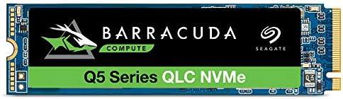Seagate Barracuda Q5 M.2 NVMe PCIe Gen3 /×4 1 TB Unidad SSD Interna ZP1000CV3A001