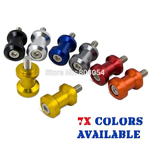 Deborah Daniel - 8mm CNC Racing Swingarm Spools Sliders Swing Arm For Honda CBR 600 600RR 900RR 929RR 954RR 1000RR RC51 SP1 SP2 (Arm Honda Swing Cbr600f3)