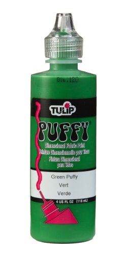 Tulip Dimensional Fabric Paint 4oz Puffy Green