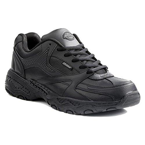 Dickies SR4815FBK Men's Rival Slip Resistant Shoe,10 W