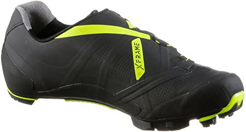 XC MTB Yellow Northwave Man Black Shoes Ghost XCM Fluo npwEgqfSx