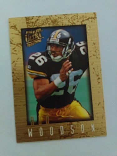 Rod Woodson - 1996 Fleer Ultra Sensations Marble Gold #83 - Pittsburgh Steelers / Purdue ()