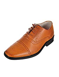 Joseph Allen Boys' Worsted Flourish Dress Shoes