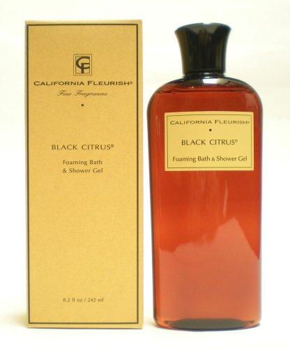 Black Citrus Foaming Bath Shower Gel 8.2 oz 242 ml