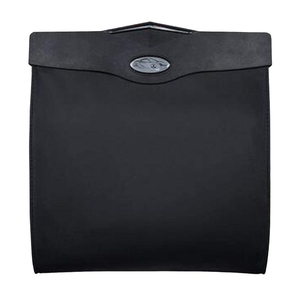 Zusammenfaltbare Organizer Abfall-Tasche Auslaufsicher Abfalltasche Sitzlehne H/ängen M/üll Aus Leder Abfalltasche Automatischer Organizer Dinapy Auto M/ülleimer Mit LED Licht
