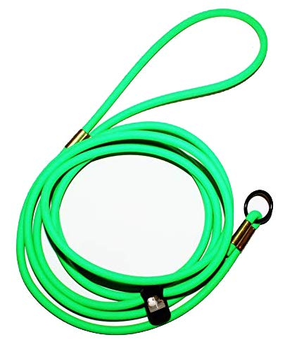 Mini Pig Harness -Adjustable- Also fits Pot Bellied Pigs and Other Small Animals -Ferret, Rabbit, Dog, cat (Neon Green)