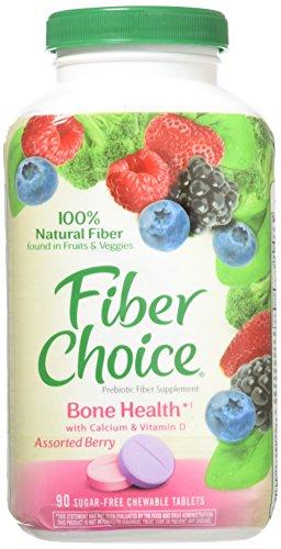 Fiber Choice Bone Health Plus Calcium & Vitamin D, 90 Count