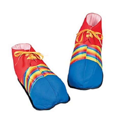 Jumbo Clown Shoes - Costumes & Accessories & Props & Kits -