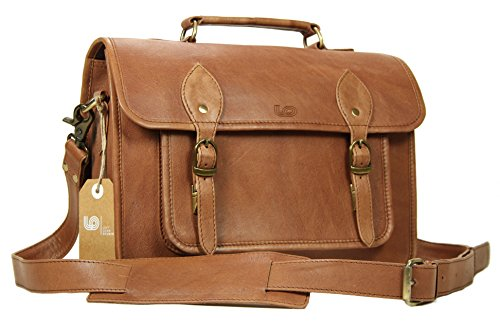 DSLR Camera Bag SLR Mirrorless Case 15 inch in Vintage Look Cow Leather by LeftOver Studio